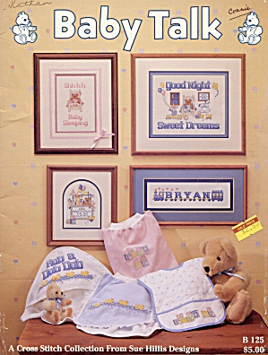 Baby Talk Cross Stitch Leaflet