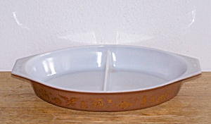 AMERICAN HERITAGE, DIVIDED CASSEROLE, 1 ½ QT. (Image1)
