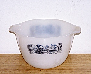 CURRIER & IVES LIPPED CASSEROLE, 1 PT. (Image1)