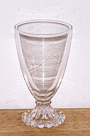 ANCHOR HOCKING BOOPIE WATER GOBLET (Image1)