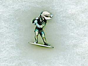 Spoontiques Pewter Boy With Golf Club