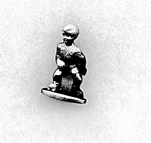 Spoontiques Pewter Running Boy