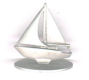 Spoontiques Pewter Sailboat