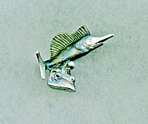 Spoontinques Pewter Sailfish