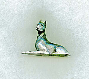Pewter Spoontiques Great Dane