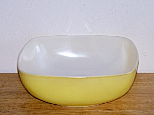 Yellow Oven & Table Bowl, 2 1/5 Qt.