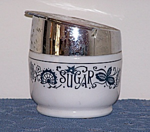 Gemco Sugar Jar, Chrome Top