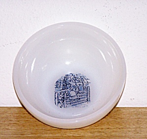 Currier & Ives Soup/cereal Bowl