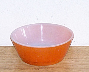 Orange Stacking Bowl