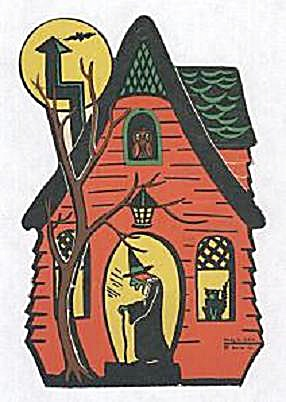 HAUNTED HOUSE DIE CUT (Image1)