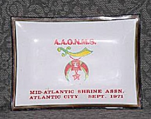 AAONMS SHRINE ASSN. TRAY (Image1)