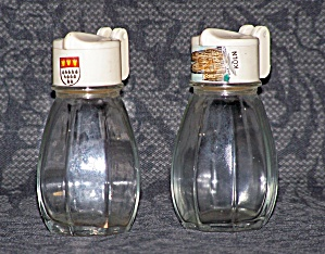 MINI SYRUP JARS SALT & PEPPER SHAKERS (Image1)