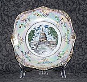 THE CAPITOL WASHINGTON, DC SOUVENIR PLATE (Image1)