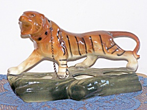 ROARING STRIPED TIGER TRIPLE PLANTER (Image1)