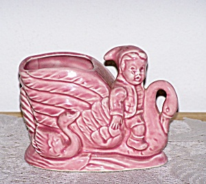 BOY RIDING SWAN PLANTER (Image1)
