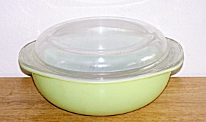 Verde Green Bowl With Lid, 2 Qt.