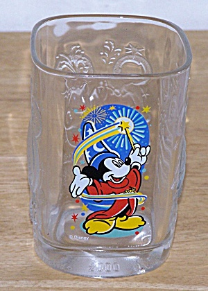 2000, MICKEY AS A WIZZARD, MC DONALD GLASS (Image1)