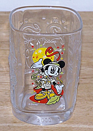 2000, MICKEY AS A HUNTER, MC DONALD GLASS (Image1)