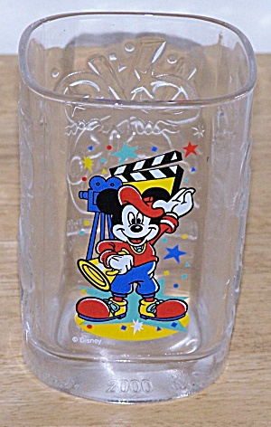 2000, MICKEY AS A DIRECTOR, MC DONALD GLASS (Image1)
