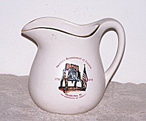 1976 America's Bicentennial Of Freedom Pitcher