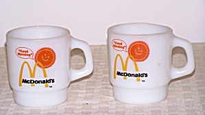 ANCHOR HOCKING FIRE KING MCDONALD�S MUGS (Image1)