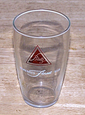 Blatz Beer Glass