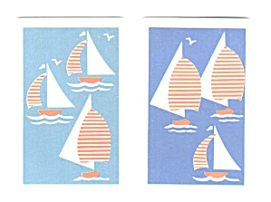 Congress Sailboat Double Deck Playing Cards
