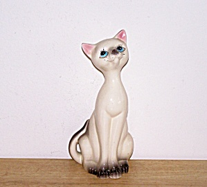 TALL BLUE EYED WHITE CAT (Image1)