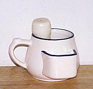 SCUTTLE SHAVING MUG & BRUSH (Image1)