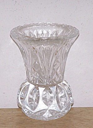 PRESSED GLASS TOOTHPICK HOLDER (Image1)