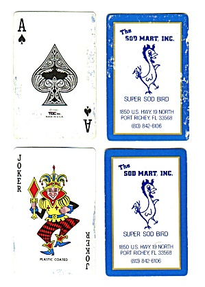 THE SOD MART, INC. PLAYING CARDS (Image1)