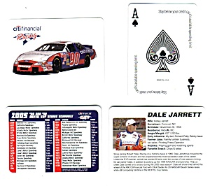 Citi Financial Racing Playing Cards