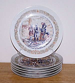 Lafayette Legacy, Set Of 6 Plates