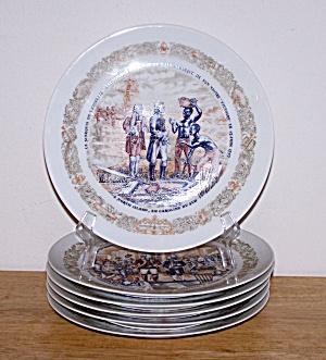 LAFAYETTE LEGACY, SET OF 6 PLATES (Image1)
