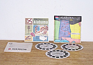 STATE TOUR SERIES, ALABAMA VIEW MASTER REEL (Image1)