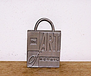 HALLMARK, THE ART OF RETAIL METAL LOGO (Image1)