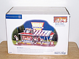 Dept 56 Snow Village, Gus's Drive-in