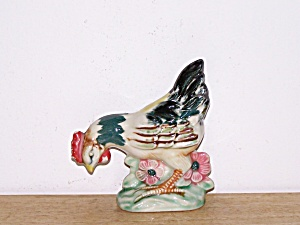 PECKING ROOSTER FIGURINE (Image1)