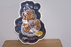 Wilton Care Bear With Cup Cake & Insert Cake Pan