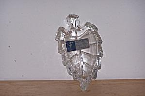 YUGOSLAVIA LEAD GLASS LEAF DISH (Image1)
