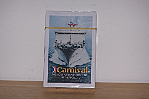 CARNIVAL CRUISE LINE PLAYING CARDS (Image1)