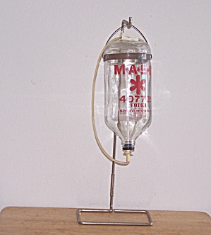 Mash Vodka Transfusion Bottle & Stand