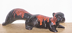 BLACK W/ RED SQUIRREL FIGURE (Image1)