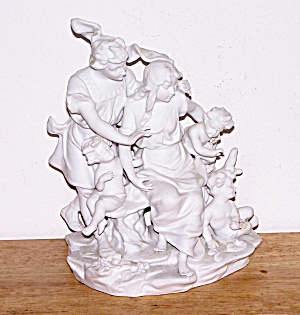 Parian Type White Bisque Figures, By Andrea