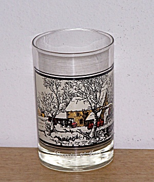 ARBY'S, FROZEN UP, CURRIER & IVES GLASS (Image1)