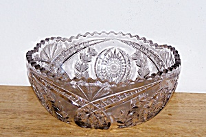 Clear Glass Center Bowl