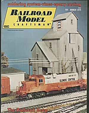 RAILROAD MODEL CRAFTSMAN, MARCH 1975 (Image1)