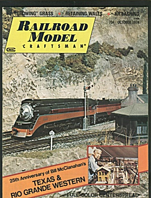 RAILROAD MODEL CRAFTSMAN, OCTOBER 1974 (Image1)