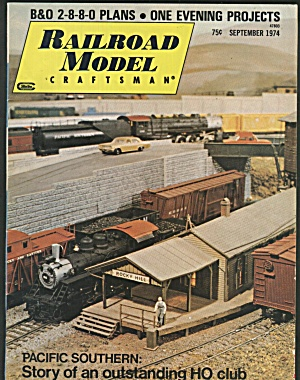 RAILROAD MODEL CRAFTSMAN, SEPTEMBER 1974 (Image1)