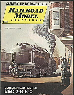 Railroad Model Craftsman, August 1974